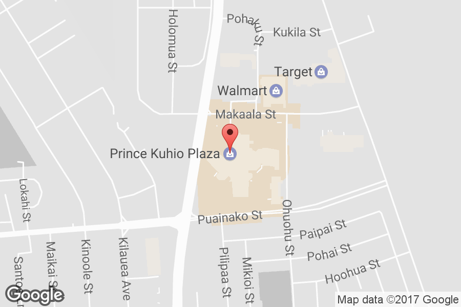 Map of Prince Kuhio Plaza - Click to view in Google Maps